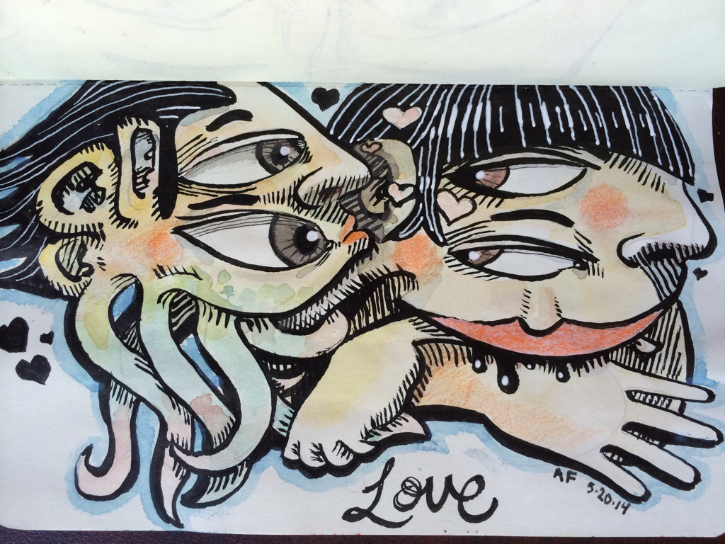 love style, Sketchbook Friday